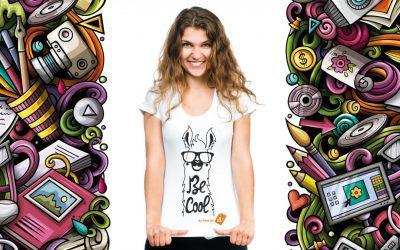 Nå kan du designe din egen T-shirt!