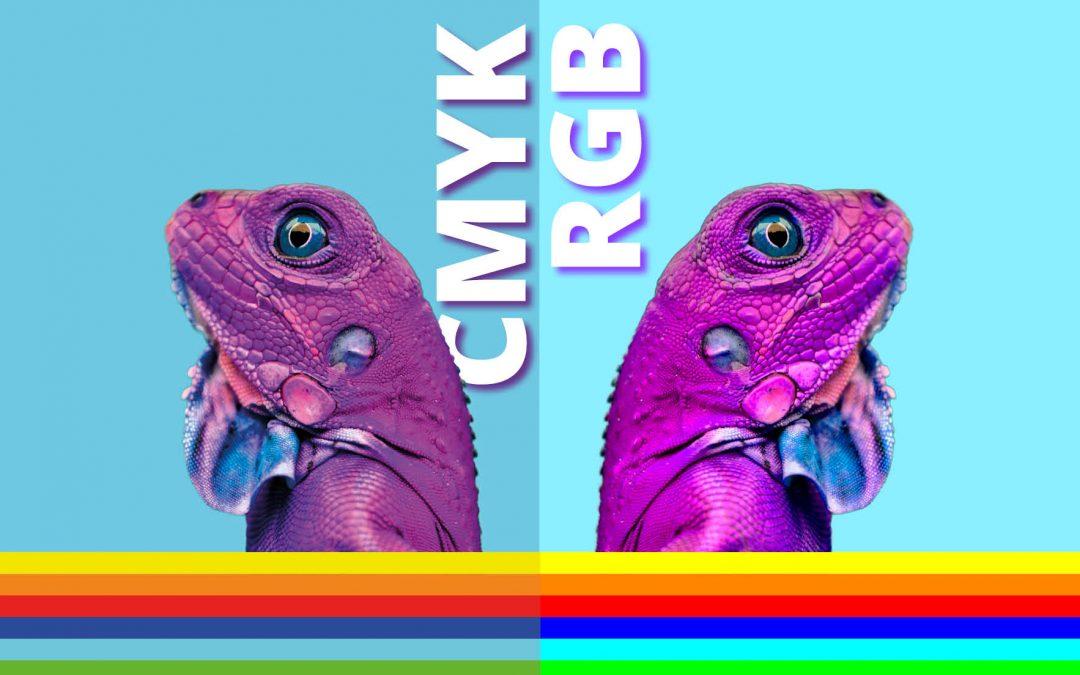 CMYK og RGB, når brukes hva?