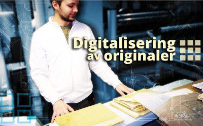 Skanning og Digitalisering av dine papiroriginaler